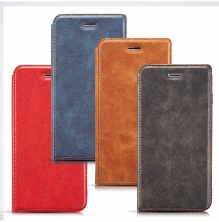 iPhone XS Max - Praktiskt Vintage Plånboksfodral