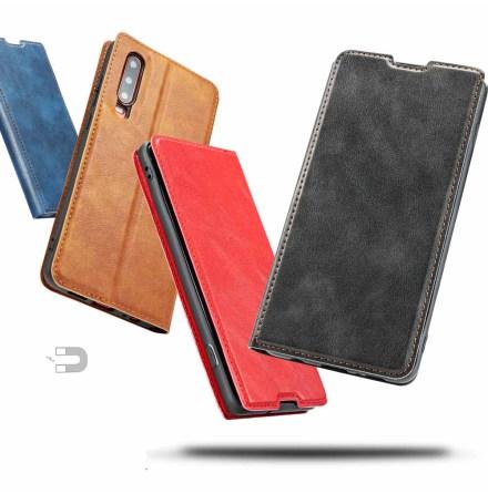 Huawei P30 - Praktiskt Smart Plånboksfodral VINTAGE