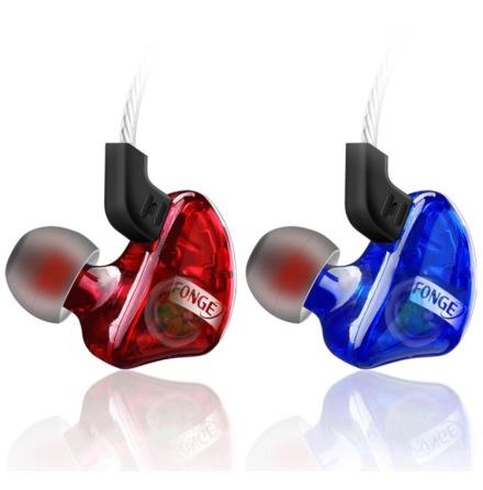 FONGE In-ear Hörlurar med Mic In-lineControl (Earphone)