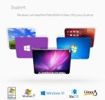 4 i 1 Type-C till 3-port USB plus 1 USB-C for Macbook
