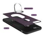 iPhone 5/5S/SE - Stilrent Silikonskal med Ringhållare FLOVEME