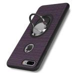 iPhone 7 - Stilrent Silikonskal med Ringhållare FLOVEME