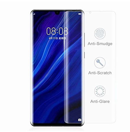 Huawei P30 Pro Skärmskydd 9H Nano-Soft Screen-Fit HD-Clear