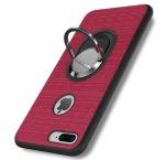 iPhone 7  Plus - Stilrent Silikonskal med Ringhållare FLOVEME
