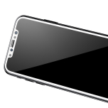 iPhone X/XS Skärmskydd (Heltäckande) från HeliGuard 3D HD-Clear