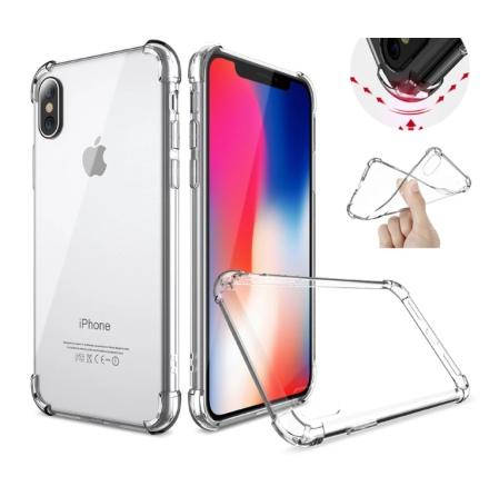 Tunt och Skyddande Silikonskal för iPhone X/XS
