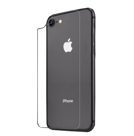 iPhone 8 Baksida Skärmskydd 9H Screen-Fit HD-Clear.