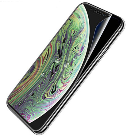 iPhone X/XS Skärmskydd 9H Nano-Soft Screen-Fit HD-Clear