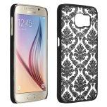 Samsung Galaxy S6 Edge - Stilrent Retroskal VINTAGE FLOWER