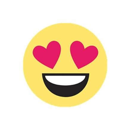"Mobilhållare Pop-Stand ""Love Emoji"" ( Popsocket-alternativ )"