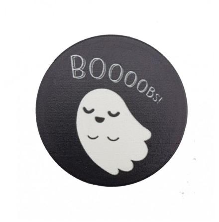 """Mobilhållare Pop-Stand """"Spöke!"""" ( Popsocket-alternativ )"""