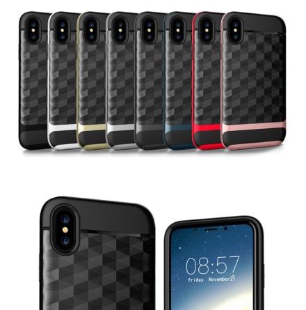 iPhone X/XS - Skyddsskal i Hybridvariant