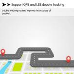 Magnetisk Mini GPS Spårare GF-07 Tracker med Mikrofon