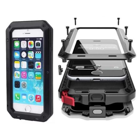 EXXO-Fodral i Aluminum för iPhone 8