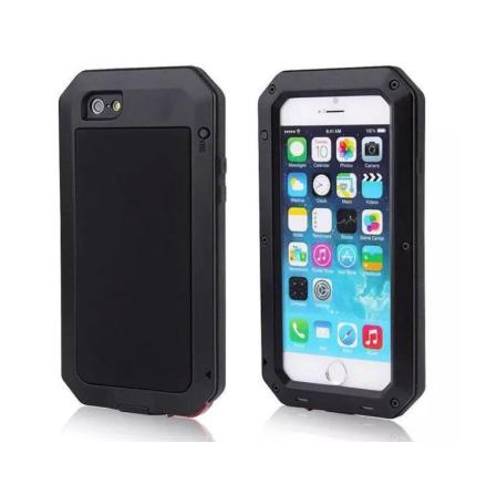 EXXO-Fodral i Aluminum för iPhone 8 Plus
