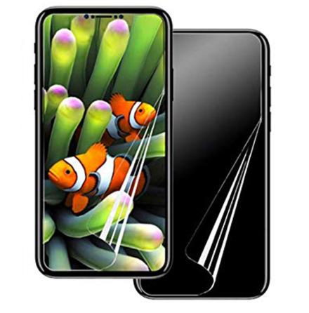 iPhone XR Skärmskydd Fram- & Baksida 9H Nano-Soft HD-Clear