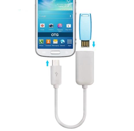 Händig USB 3.0 OTG till Type-C OTG adapter