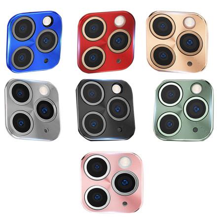 Al Alloy iPhone 11 Pro Ultratunn Högkvalitativ HD Kameralinsskydd Ram