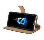 Plånboksfodral i Läder för Samsung Galaxy J3 (2017) av ROYBEN