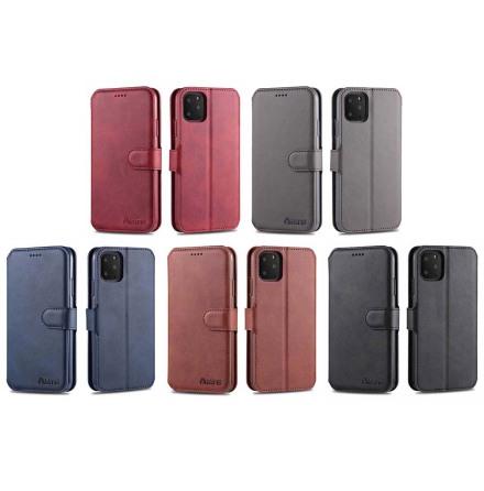 iPhone 11 Pro - Skyddande Azns Plånboksfodral