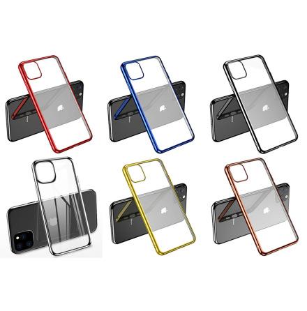 iPhone 11 - Stilrent LEMAN Skyddsskal i Silikon