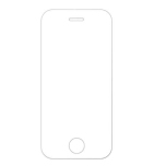 iPhone 5/5C/5S/5SE Skärmskydd Standard 9H Screen-Fit HD-Clear