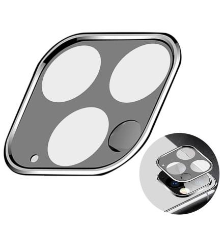 iPhone 11 Kameralinsskydd i Härdat glas + Titanlegeringsram