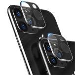 iPhone 11 Pro Kameralinsskydd i Härdat glas + Titanlegeringsram