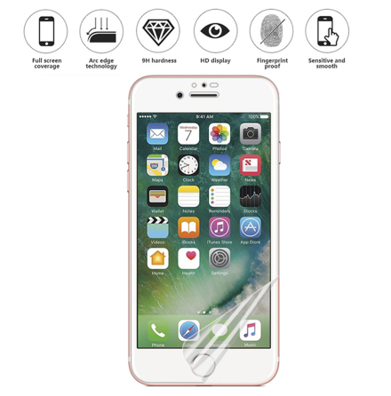 iPhone 6 Skärmskydd 9H Nano-Soft Screen-Fit HD-Clear