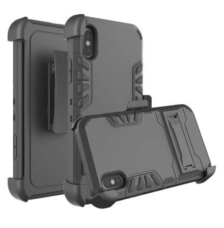 Praktiskt Skyddsfodral (ROCK) för iPhone X/XS
