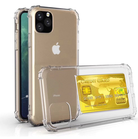 iPhone 11 Pro - Stötdämpande Praktiskt Silikonskal