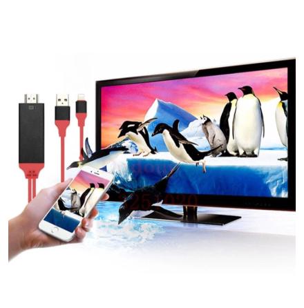 Lightning 8 pin till HDMI HDTV MHL Kabel för iPhone / iPad