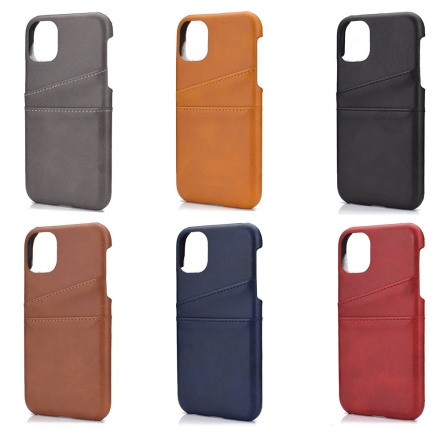 iPhone 11 - Exklusivt Vintage Skal med Korthållare (SUTENIS)