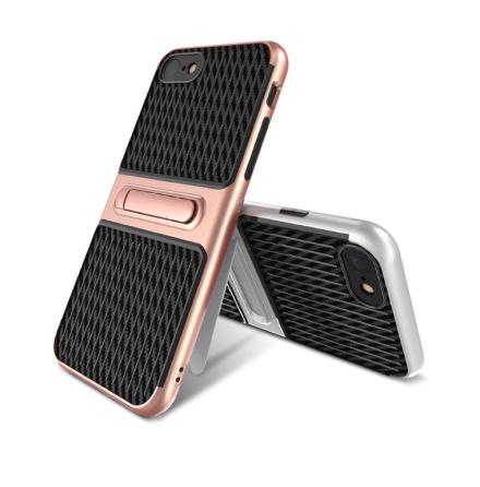 iPhone 8 - HYBRID Stötdämpande Karbon skal från FLOVEME