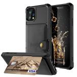 iPhone 11 Pro - Exklusivt Smidigt Skal med Kortfack