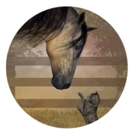 """""""Min Häst"""" Popsocket"""
