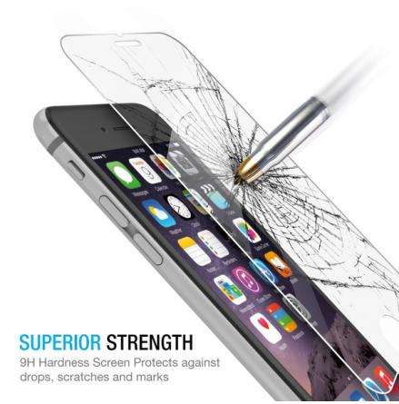 iPhone 7 Plus Skärmskydd (Heltäckande) 3D/HD från ProGuard