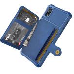 iPhone XR - Exklusivt Skyddande Skal med Kortfack