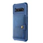 Samsung Galaxy S10E - Professionellt Stilrent Skal med Kortfack