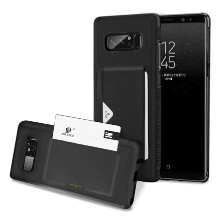 DUX DUCIS - Stilrent Skal med Kortfack - Samsung Galaxy Note 8