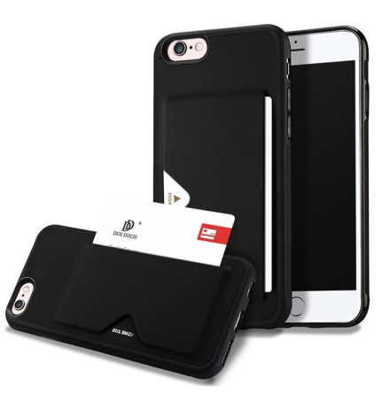 DUX DUCIS - Stilrent Skal med Kortfack - iPhone 8