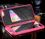 iPhone 6plus/6Splus - Elegant skal med spegel och kortfack