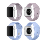 Apple Watch 38mm -  NORTH EDGE Stilrena Silikonarmband