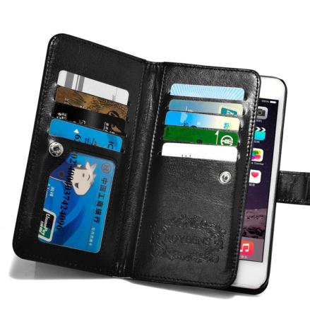iPhone 6/6S - Stilrent Plånboksfodral i PU-Läder av ROYBEN
