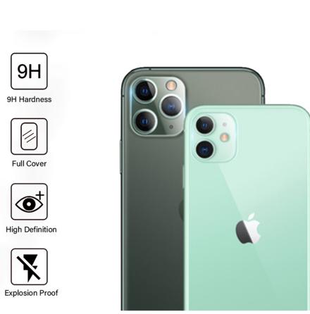 iPhone 11 Pro Bakre Kameralins Skärmskydd 9H 2.5D FullCover