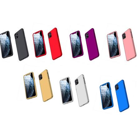 iPhone 11 Pro Max - Skyddande Dubbelsidigt Skal (FLOVEME)
