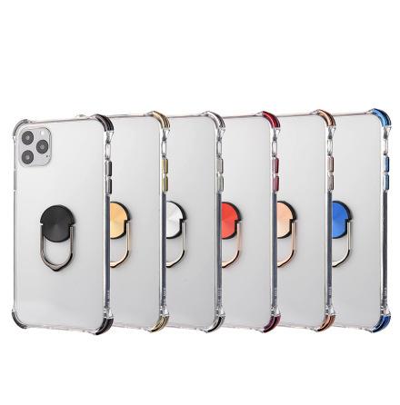iPhone 11 Pro - Praktiskt Skyddsskal med Ringhållare