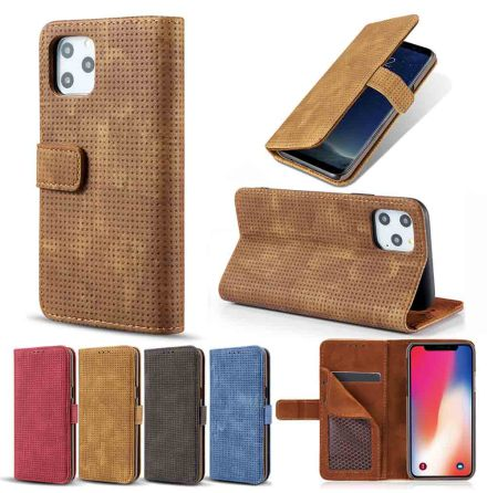 iPhone 11 - Praktiskt Stilrent Plånboksfodral (LEMAN)