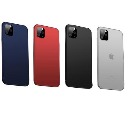 iPhone 11 Pro - Stilrent Skyddande Silikonskal