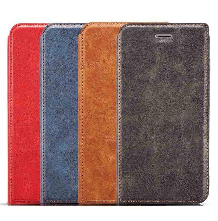 iPhone 11 Pro Max - Praktiskt Stilsäkert Vintage Plånboksfodral